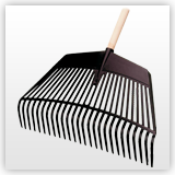 rake made of high-quality polyamide - RP60